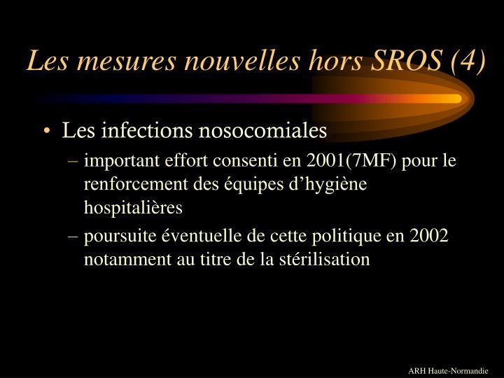 Les mesures nouvelles hors SROS (4)