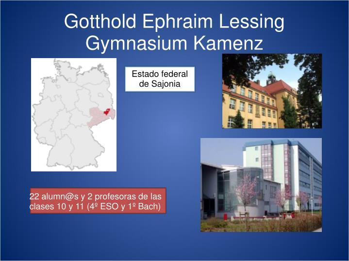 Gotthold ephraim lessing gymnasium kamenz