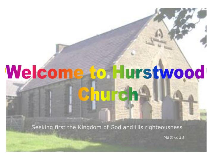 Welcome to Hurstwood