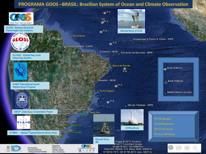 PROGRAMA GOOS –BRASIL: