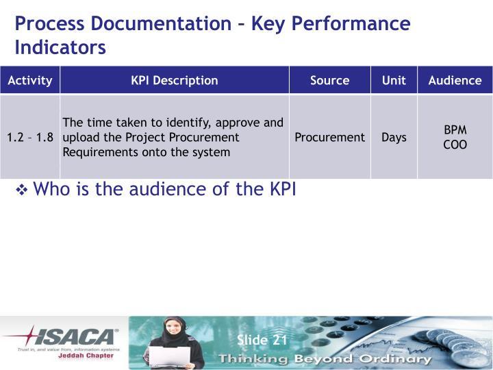 Process Documentation – Key
