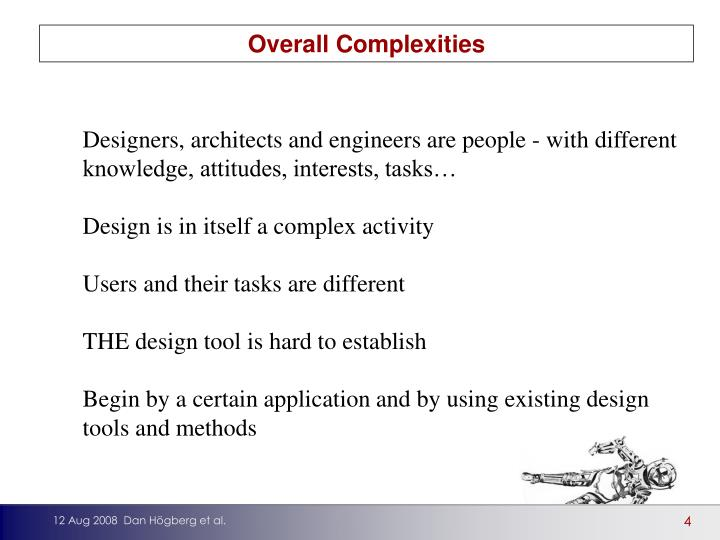 Overall Complexities