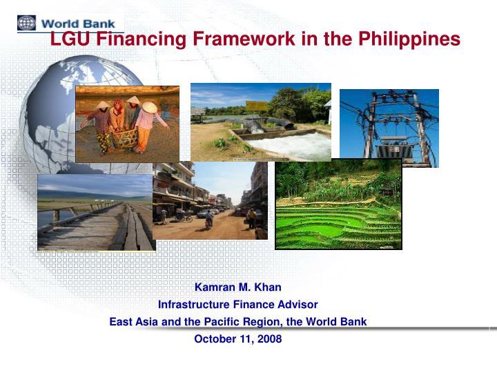 LGU Financing Framework in the Philippines