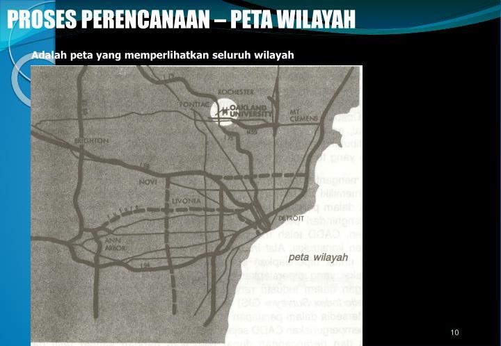 Adalah peta yang memperlihatkan seluruh wilayah