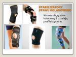 stabilizatory stawu kolanowego
