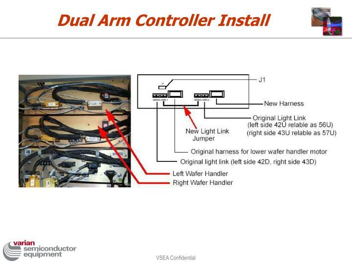 Dual Arm Controller Install