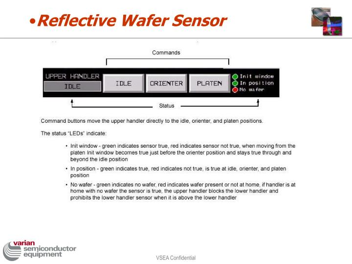 Reflective Wafer Sensor