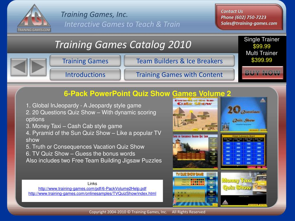 PPT - Welcome to the PowerPoint version of the Training