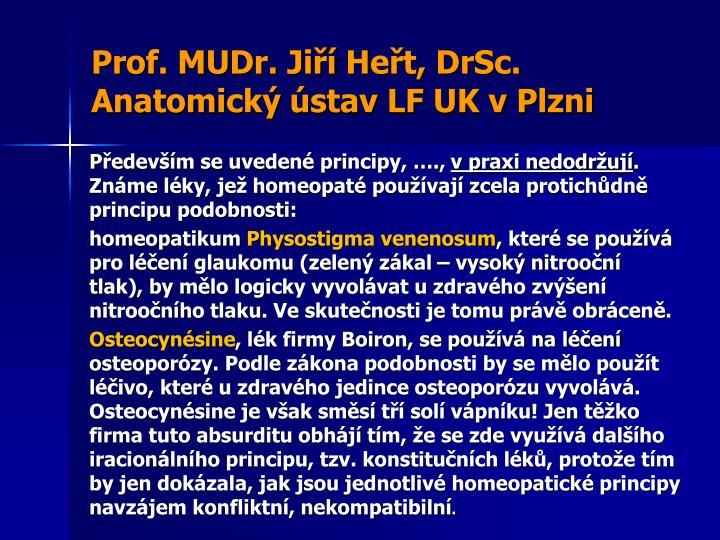 Prof. MUDr. Jiří