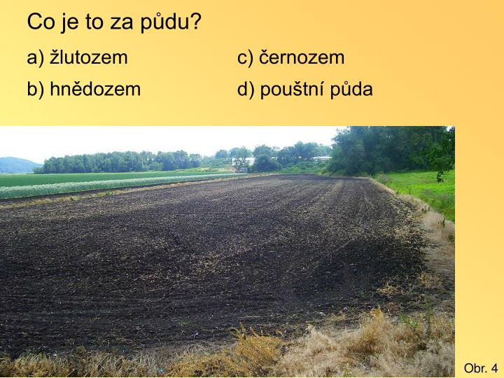 Co je to za půdu?