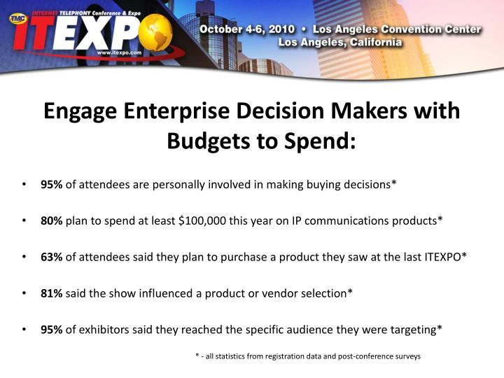 Engage Enterprise Decision
