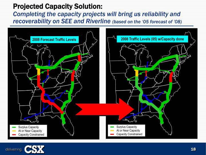 2008 Traffic Levels (05) w/Capacity done