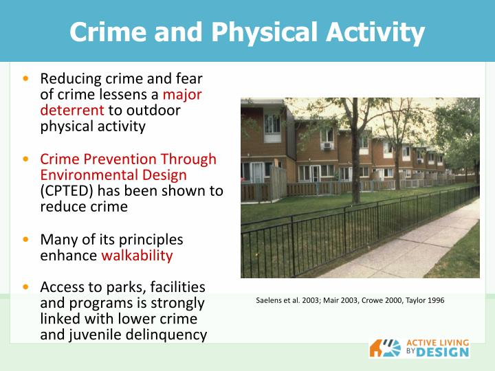 Crime and Physical Activity