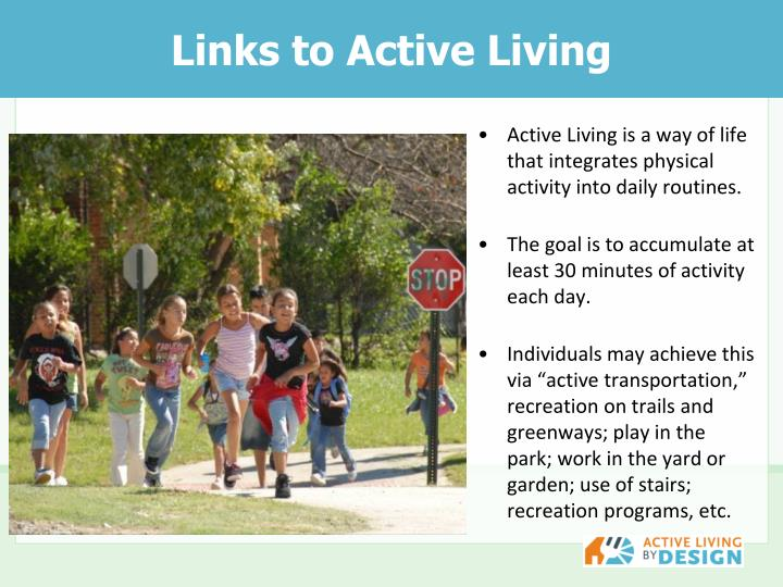 Links to Active Living