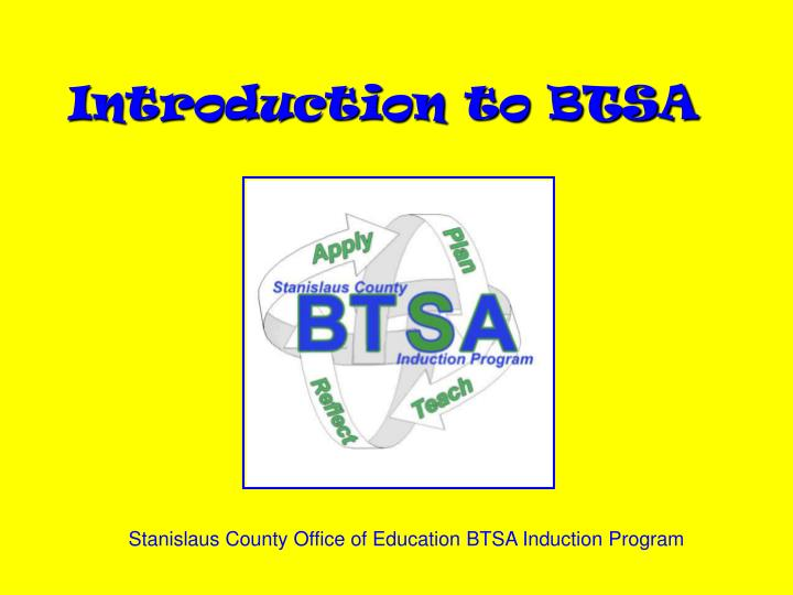 introduction to btsa n.