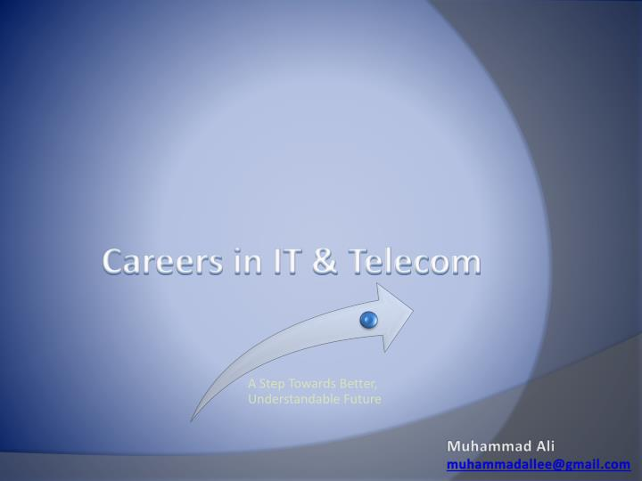 Careers in it telecom