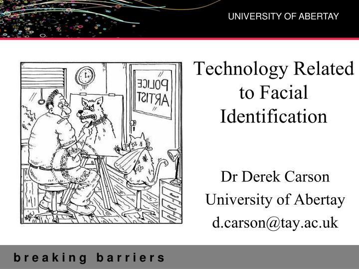 technology related to facial identification n.