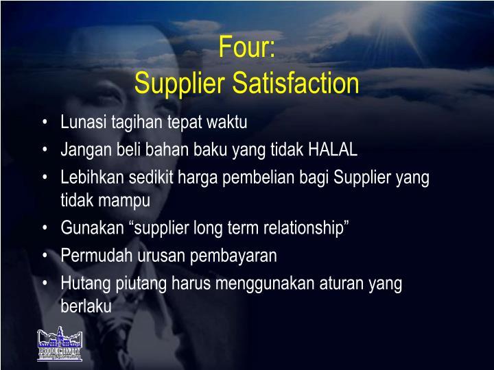 Four: