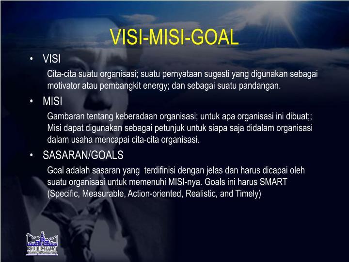 VISI-MISI-GOAL