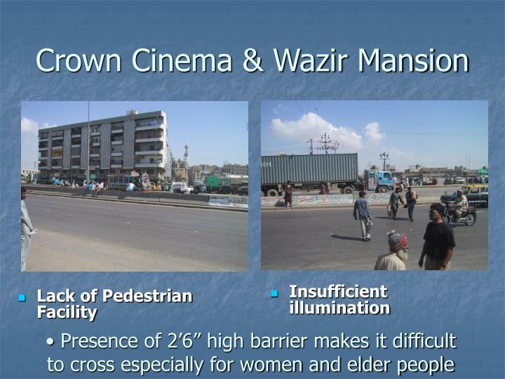 Lack of Pedestrian Facility