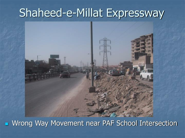 Shaheed-e-Millat Expressway