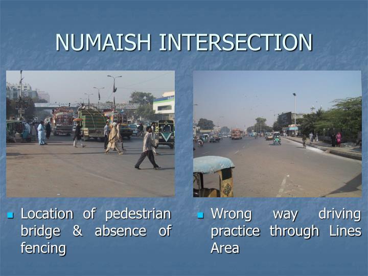 NUMAISH INTERSECTION