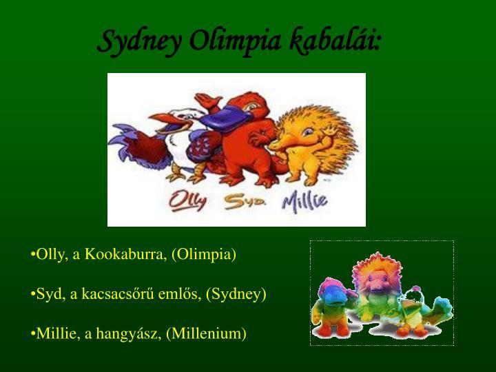 Sydney Olimpia kabalái: