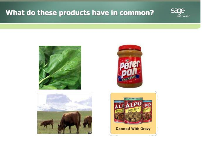 What do these products have in common?