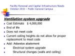 facility renewal and capital infrastructure needs october 2010 public general campus2