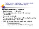 facility renewal and capital infrastructure needs october 2010 public general campus5