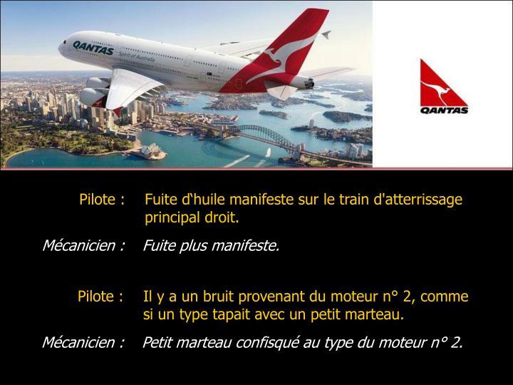 Pilote :