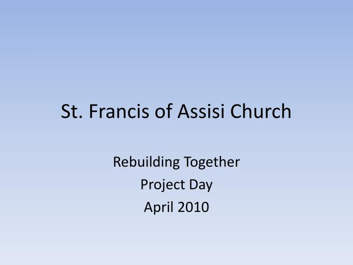 st francis of assisi church n.