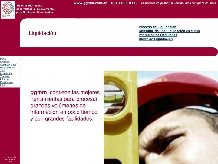 Proceso de Liquidación