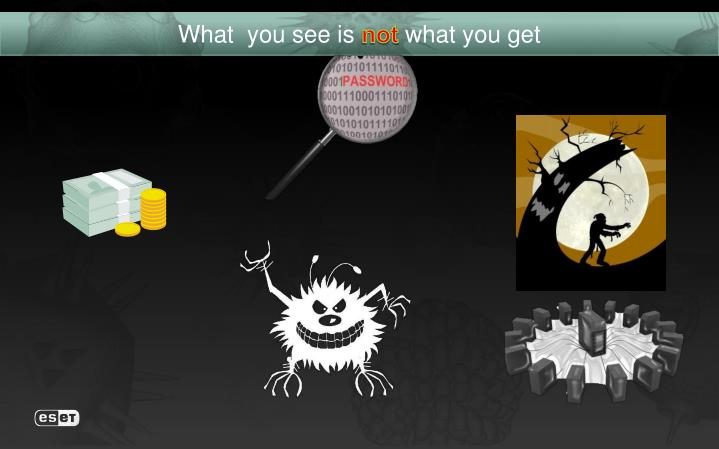 What you see is not what you get1