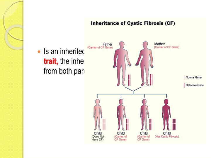 Is an inherited disease RLT an
