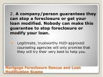 mortgage foreclosure rescue and loan modification scams3