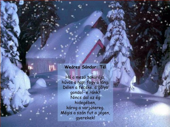 Weöres Sándor: Tél