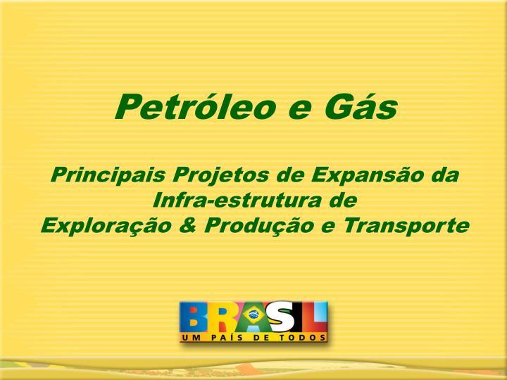 Petróleo e Gás