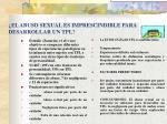 el abuso sexual es imprescindible para desarrollar un tpl