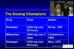 the dosing champions