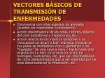 vectores b sicos de transmisi n de enfermedades1