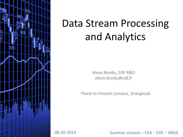 data stream processing and analytics n.