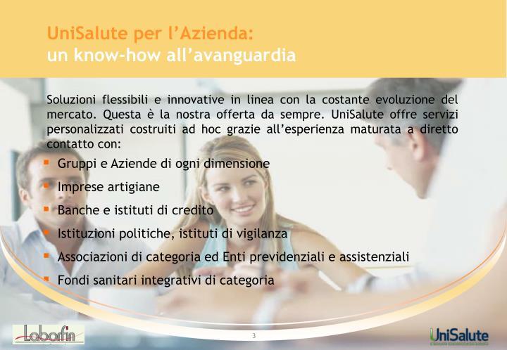 UniSalute per l'Azienda: