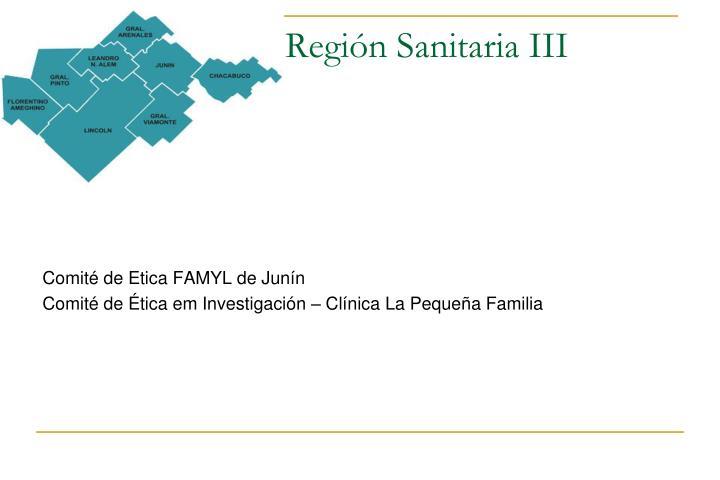 Región Sanitaria III