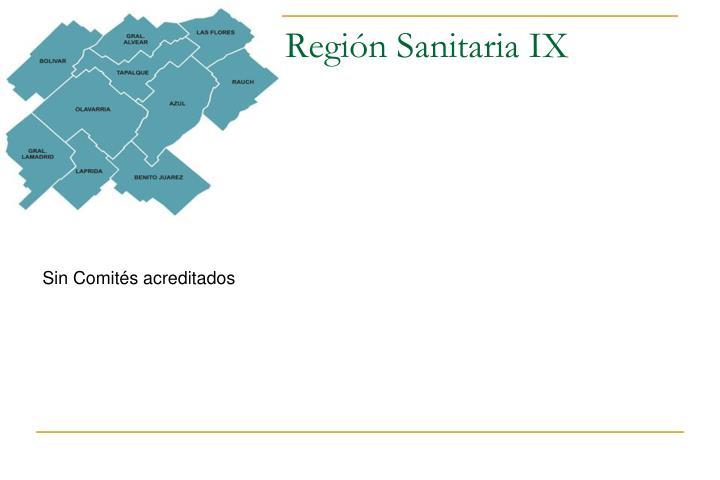 Región Sanitaria IX