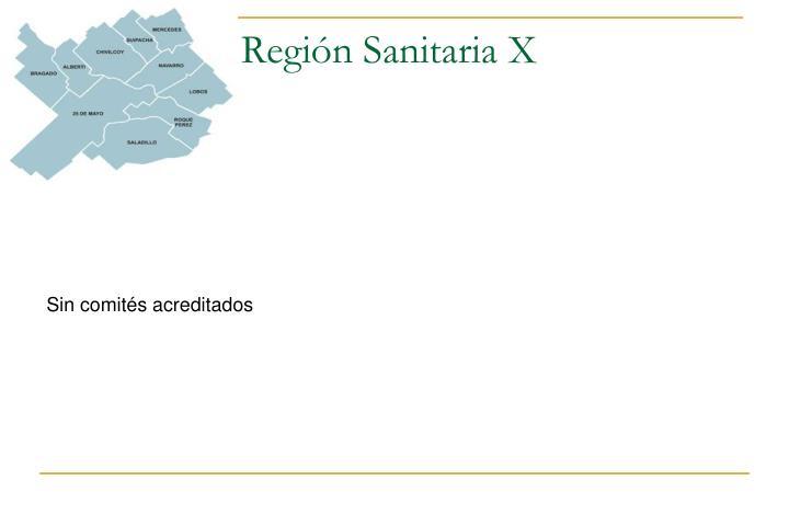 Región Sanitaria X