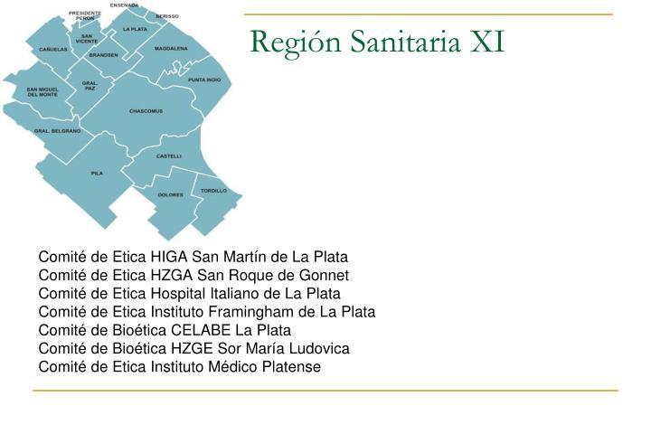 Región Sanitaria XI