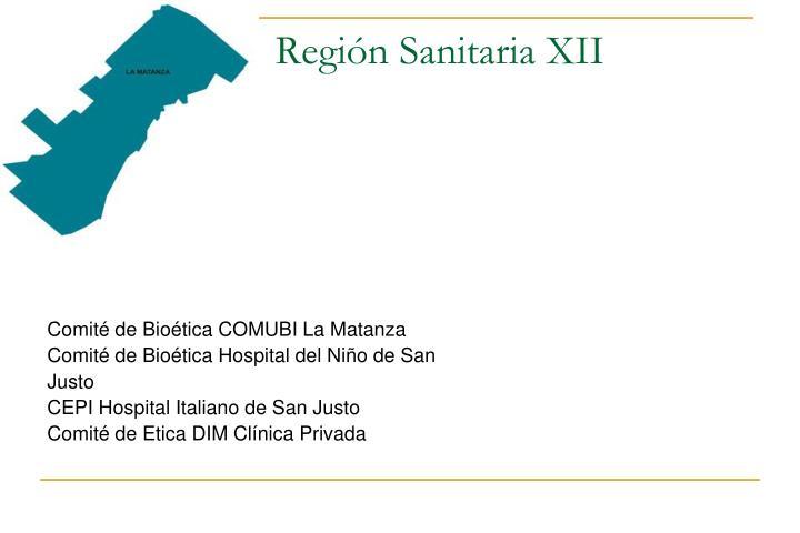 Región Sanitaria XII