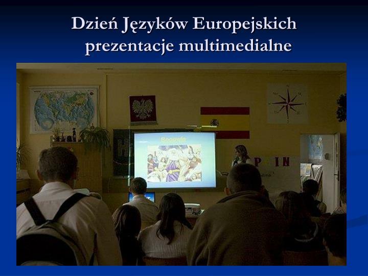 Dzień Języków Europejskich