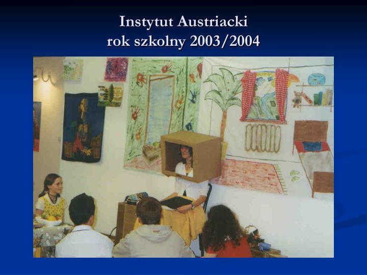 Instytut Austriacki